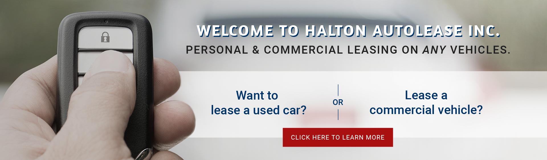 Halton Auto Lease